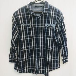 5XB Sean John Button Down Long Sleeve Shirt   BP90